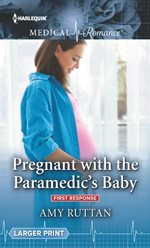 Pregnant wit the Paramedics Baby Amy Ruttan