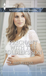 Pregnant with the Soldiers Son -- Amy Ruttan