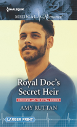 Royal Docs Secret Heir -- Amy Ruttan